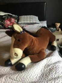 Large Horse soft toy
