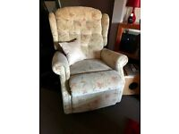 3 seater sofa plus compatible 2 seater sofa and recliner chair
