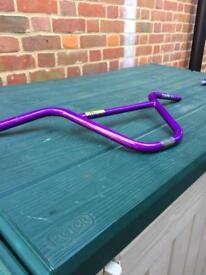 Hitmain Bmx bars purple
