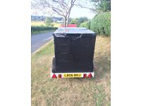 "lightweight box trailer 40""w x 72""l x 50"" very good condition"