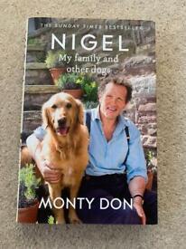MONTY DON / NIGEL HARDBACK BOOK