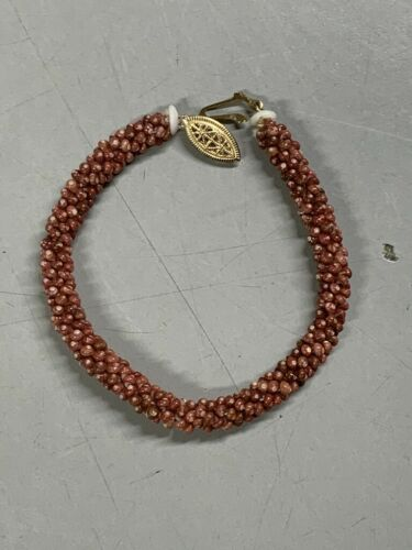 100% Niihau Shell Kahelelani Poepoe Bracelet 8in 4 - Certified Authentic -Hawaii