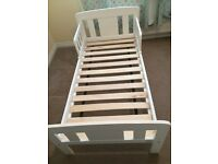 John Lewis solid wood toddler bed