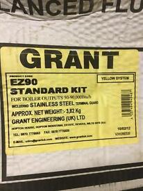 Grant ez90 boiler flue standard horizontal kit