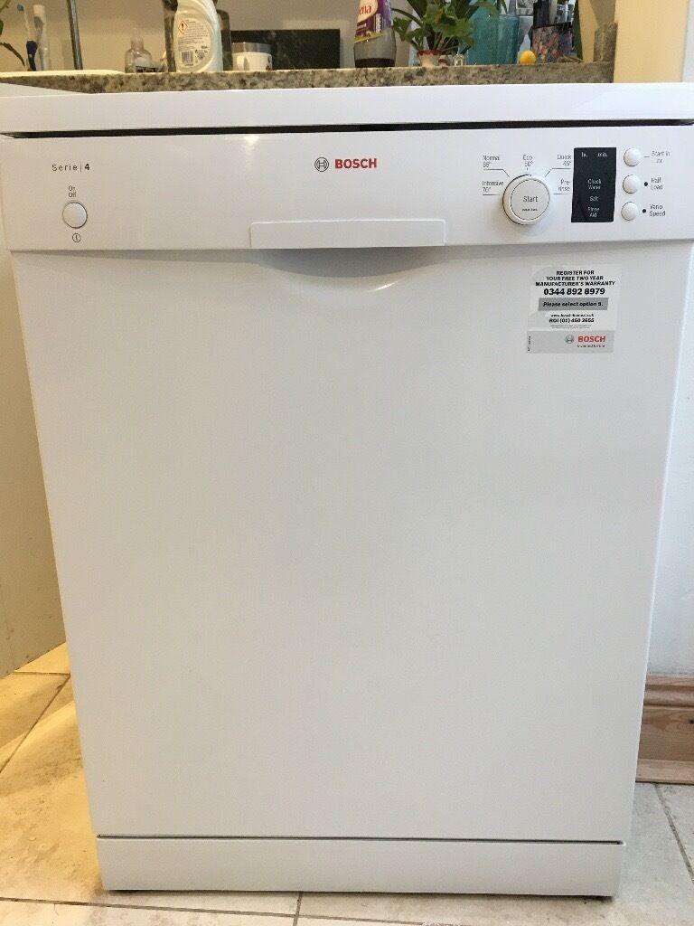 Bosch SMS50C12UK Dishwasher Freestanding STILL UNDER WARRANTY until 17.3.18.