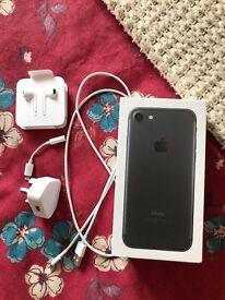 iPhone 7 32 gb in black locked to EE