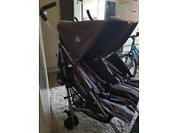 Double stroller MACLAREN Twin Triumph.Fully working.Delivery is available