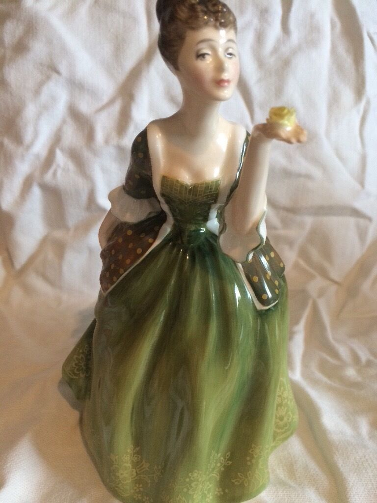 Royal doulton Fleurin Forfar, AngusGumtree - Royal doulton Fleur bone China figurine, beautiful condition. Serial no HN 2368