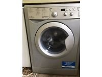 Hardly used - 6mths old - Washer/Dryer - Silver - Indesit