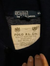 Mens genuine polo jacket jumper