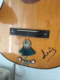 Real guitar wall lights..designed - tested and signed by designer.