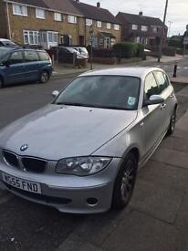 Bmw 1 series 55 plate