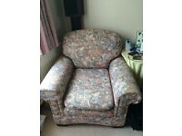 Sofa & 2 arm chairs for sale