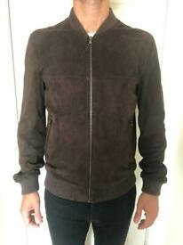 Men's Suede leather jacket