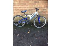 Apollo shogun full suspension Youth mountain bike
