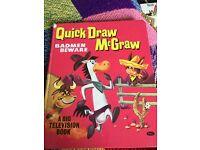 1960s Quick Draw BADMEN BEWARE McGRaw Book.. very Rare
