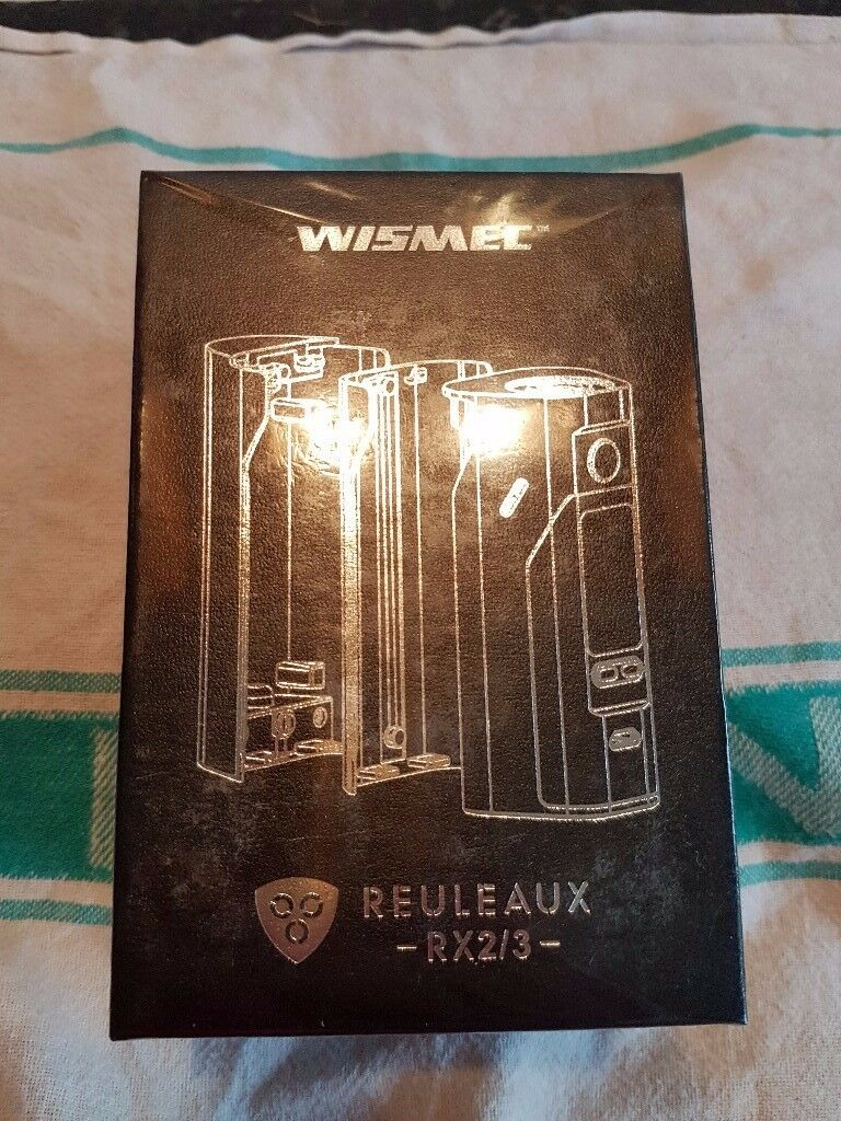 VAPE WISEMC RX 2/3 BRAND NEW SEALED IN THE BOX