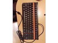 VPRO V500S Backlit Mechanical Gaming Keyboard Programmable Keys, Backlit Mechanical