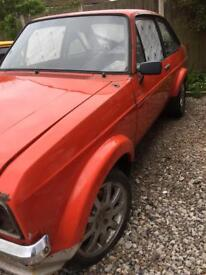 Ford escort mk2 rally project