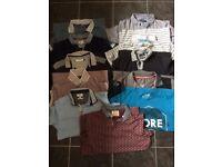 Men's Polo Shirt T-Shirt and Shirt bundle size Small