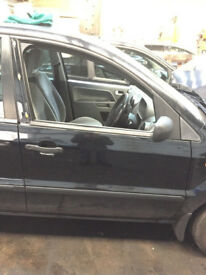 FORD FUSION 02 - 09 DRIVERS RIGHT SIDE BARE FRONT DOOR PANEL IN BLACK