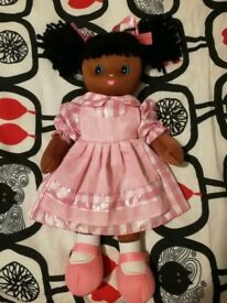 Doll with pink dress 2