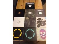 10 x Brand new Dubstep, Drum and Bass and Electronica Vinyl Records Ex Shop Stock