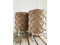 2 beautiful designer stool!