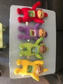 Teletubbies soft toys