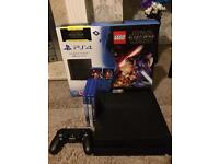 PS4 1tb with 3 games few months old