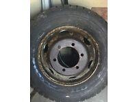 7.5 ton truck drive wheel