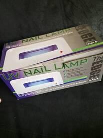 UV gel & acrylic low odour nail lamp