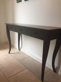 Oak side table with drawers for sale