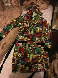 Adults marvel dressing gown