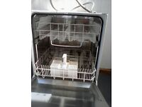 Dishwasher whirlpool integrated full size