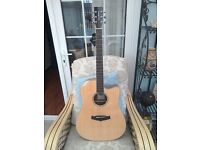 Tanglewood TW28 Z CE deluxe acoustic electric guitar