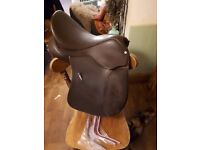 "16.5"" Wintec wide Cair Air VSD Saddle Dressage Brown beautiful condition"