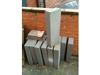 Lightweight air brick breeze block
