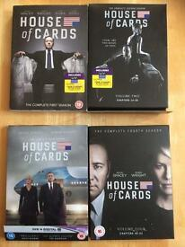 House of cards 1-4
