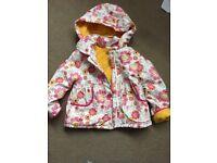Baby girls coat 18-24 months