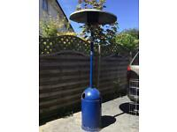 PATIO HEATER WITH EMPTY GAS BOTTLE