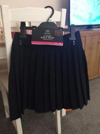 Brand new girls school skirt