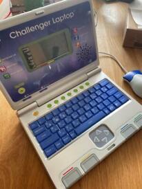 VTech challenger laptop, Blue.