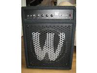£48 Warwick Blue Cab 60 - 60W 1x12 Bass Combo Amp