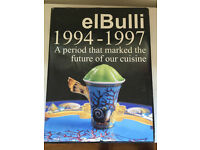 Unique Collectable elBulli Restraunt Food - Coffee Table Book (1994-1997)