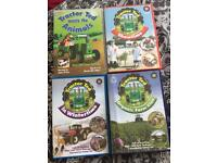 4 Tractor Ted dvds