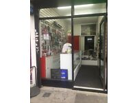Mobile shop + laundry collection for rent on west green road mear wood green