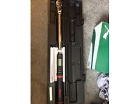 Snap on 1/2 drive digital torque wrench new!