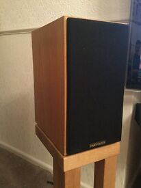 EB Acoustics EB1 hi-fi Speakers. In excellent condition. What Hi-Fi recommended buy item. Standmount