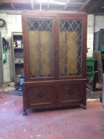Free Display unit hard wood (will separate)